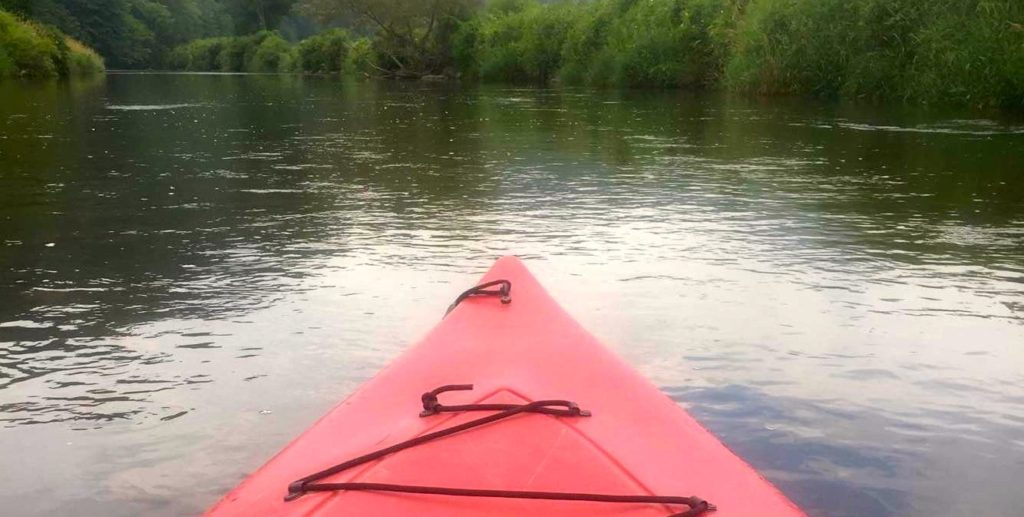 Kayak on New River